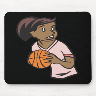 Basketball Player Mouse Pad