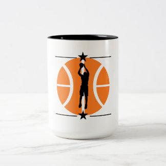 Basketball Player Two-Tone Mug