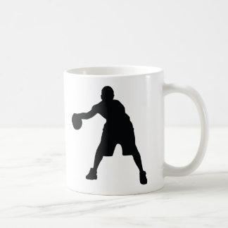 Basketball Player Classic White Coffee Mug