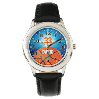 Basketball Player Number | Funny Personalizable Watch