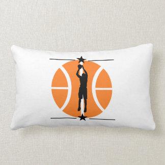 Basketball Player Throw Pillow