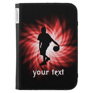 Basketball Player; Red Kindle Keyboard Cases