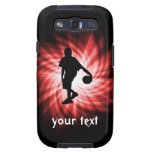 Basketball Player; Red Galaxy SIII Case