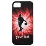 Basketball Player; Red iPhone 5 Covers