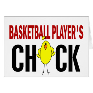 BASKETBALL PLAYER'S CHICK CARDS