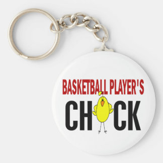 BASKETBALL PLAYER'S CHICK KEYCHAIN