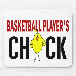 BASKETBALL PLAYER'S CHICK MOUSE MATS