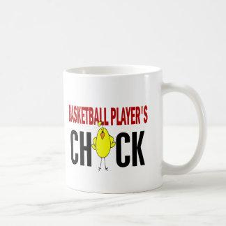 BASKETBALL PLAYER'S CHICK COFFEE MUG