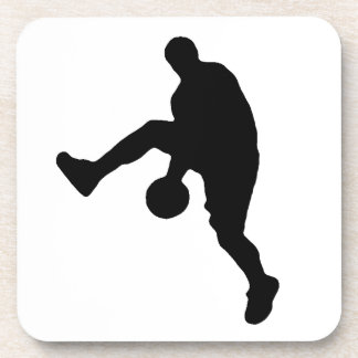Basketball Player Silhouette Coaster