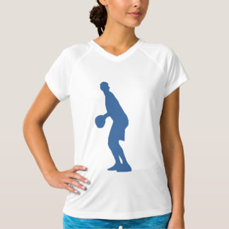 Basketball Player Silhouette Shirt