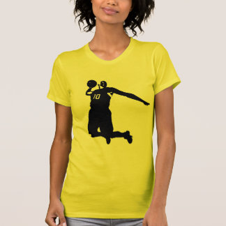 Basketball Player Silhouette T-Shirt