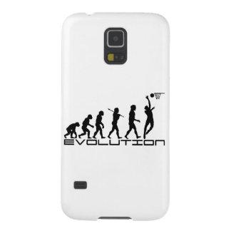 Basketball Player Sport Evolution Art Galaxy S5 Cover