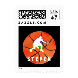 Basketball Player | Sport Gift Stamp