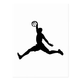 Basketball Player sports Postcard