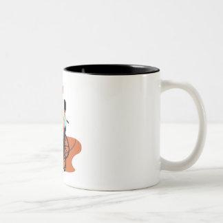 Basketball Player Two-Tone Coffee Mug
