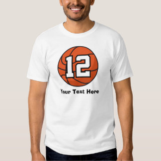 Basketball Player Uniform Number 12 Gift Idea T Shirt