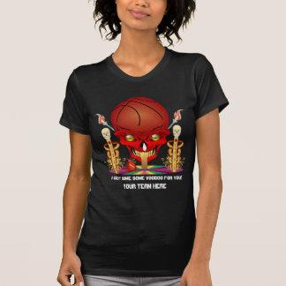 Basketball Player Women Dark View Hints T-Shirt