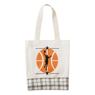 Basketball Player Zazzle HEART Tote Bag