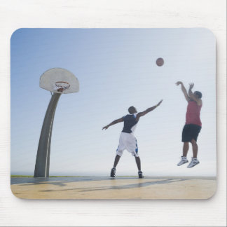 Basketball players 3 mouse pad