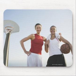 Basketball players 4 mouse pad