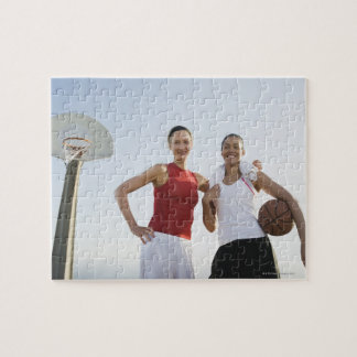 Basketball players 4 puzzles