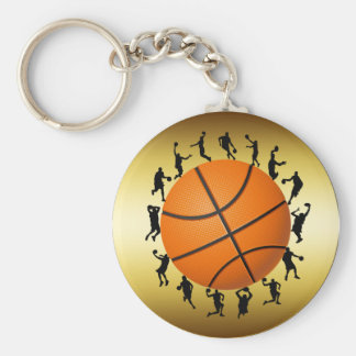 BASKETBALL PLAYERS DESIGN KEYCHAIN