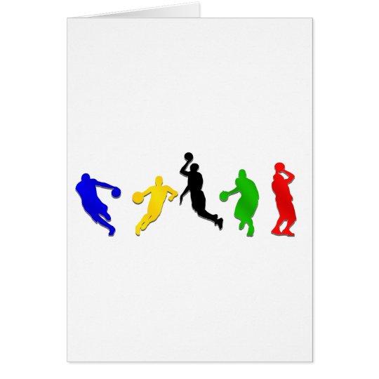 Basketball players hoops   basketball card