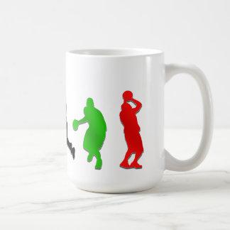 Basketball players hoops   basketball coffee mug