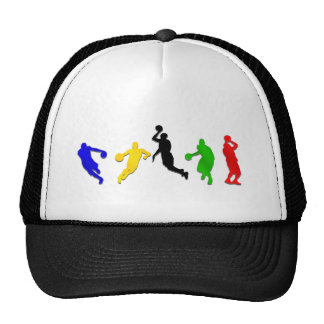 Basketball players hoops   basketball trucker hat