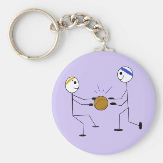 Basketball Players Keychain