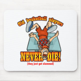 Basketball Players Mouse Pad