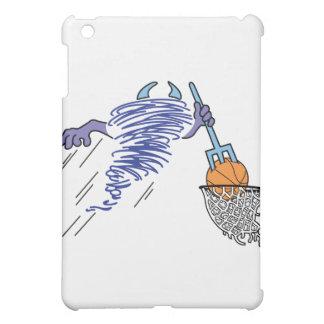 basketball playin dust devil cartoon iPad mini case