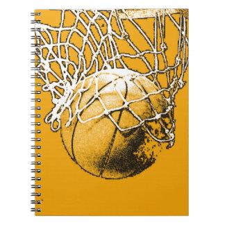 Basketball Pop Art Notebook
