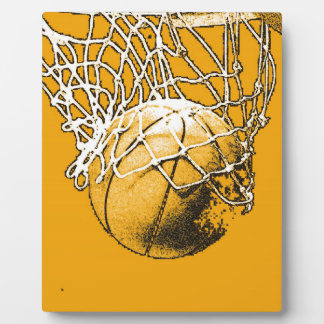 Basketball Pop Art Plaque