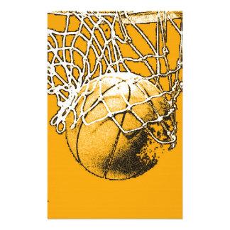 Basketball Pop Art Stationery