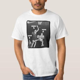 Basketball Positions: Guard, Forward, Sinner T-shirt