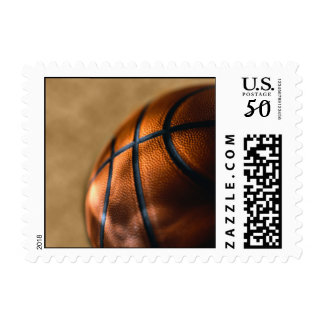 Basketball Postage Stamp