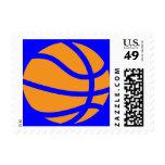 basketball. postage stamps