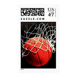 Basketball Postage Stamps