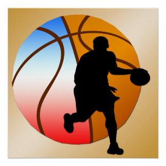 """Basketball Poster 20""""x20"""""""