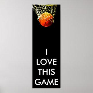 Basketball Poster - Panoramic Posters