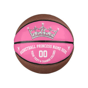 Basketball Princess Personalized Basketball Ball 2cbaa710c0