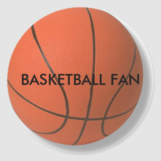 Basketball Product Classic Round Sticker