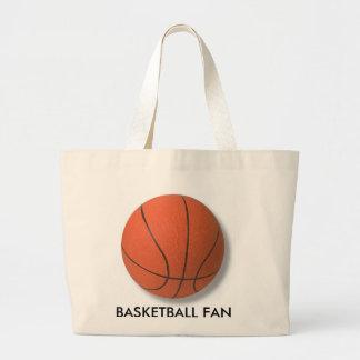 Basketball Product Large Tote Bag