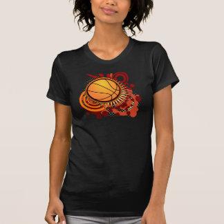 Basketball Punk Circles Red T-Shirt