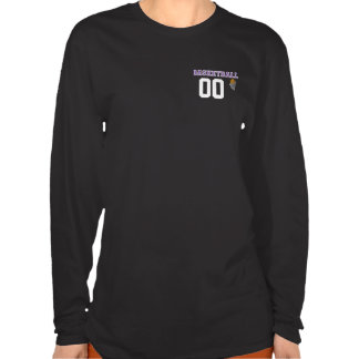 Basketball Purple Letter Personalize #Shirt