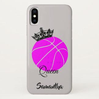 Basketball queen iphone x case