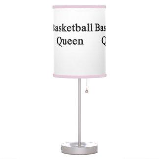 Basketball Queen Table Lamp