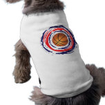 Basketball Red Blue And White Doggie Tee Shirt