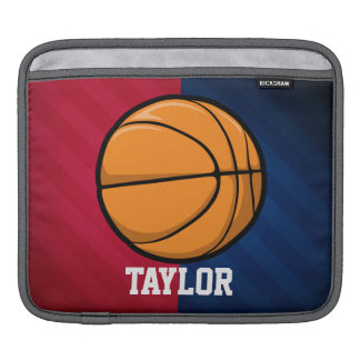 Basketball; Red, White, and Blue iPad Sleeve